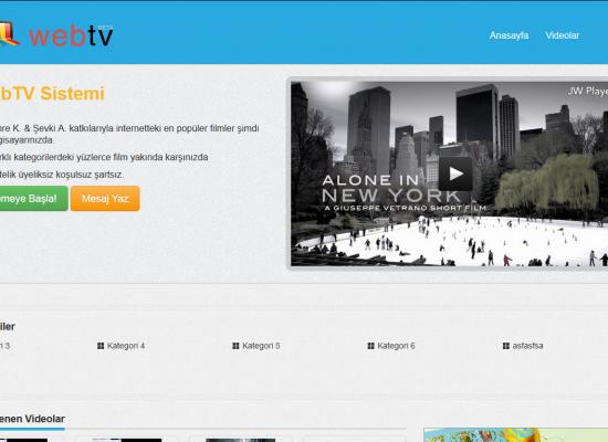 WebTv V 2.0 Demo